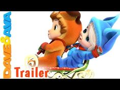 Ten Little Snowflakes - Trailer | Nursery Rhymes and Baby Songs from Dave and Ava - YouTube