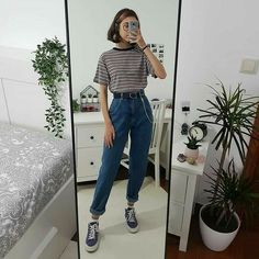 🔞TIENE CONTENIDO +18🔞 Si quieres saber de que va leela :) VISITAS:… #fanfic # Fanfic # amreading # books # wattpad Indie Outfits, Edgy Outfits, Teen Fashion Outfits, Retro Outfits, 80s Fashion, Cute Casual Outfits, Vintage Outfits, 80s Style Outfits, Korean Fashion