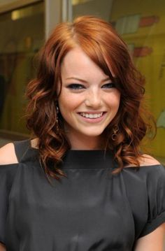 emma stone...love her hair!
