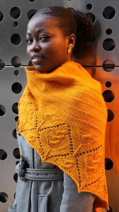 Love the use of cables   Safiya by Caryle Style (karako17) - pattern $5.00