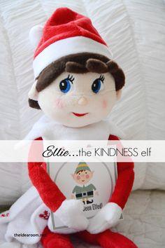Elf on the Shelf : The Kindness Elf | theidearoom.net