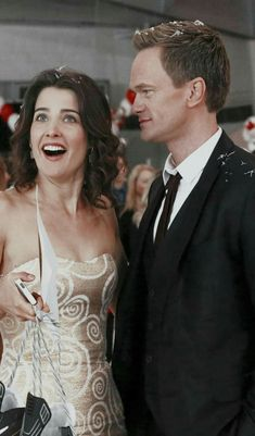 Robin and Barney season 912 Rehearsal Dinner Barney And Robin, Robin Scherbatsky, I Meet You, Told You So, How Met Your Mother, Ted Mosby, Yellow Umbrella, Babe, Fandoms