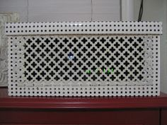 Life On Elizabeth: DIY Cable Box Cover