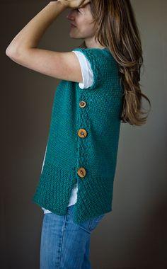 2-square vest pullover