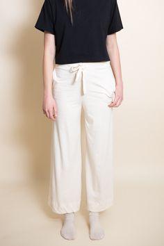 Drawstring Pants / Natural