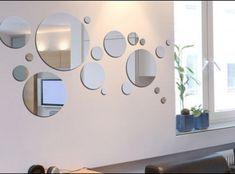 Mirrors – Home Decor : miroir -Read More – Interior Design Living Room, Living Room Designs, Interior Decorating, Photo Deco, Living Room Colors, Elegant Homes, Home Crafts, Sweet Home, House Design