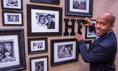 How to Hang Art in Salon Style with #KenWingard #HomeandFamilyTV #photography