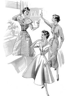 1940s 1950s 40s 50s Haslam Draft Pattern by schmetterlingtag