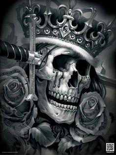 og abel suicide king poster more tattoo ideas skull tattoo king tattoo Og Abel Art, King Tattoos, Skull Tattoos, Hard Tattoos, Art Harley Davidson, Coroa Tattoo, Tattoo Crane, Design Dragon, Arte Latina