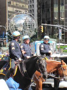 NYPD @ Columbus Circle..... photo by Jim Fairfax www.fairfaxstudios.com Columbus Circle, New York Police, Riding Helmets, New York City, Nyc, The Unit, Apple, City Life, Cities