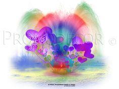 """""""Fuente arcoiris"""" Paleta de colores"""