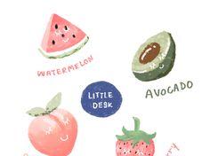 แจก - Google ไดรฟ์ Floral Print Wallpaper, Cute Patterns Wallpaper, Kawaii Stickers, Cute Stickers, Minimalist Icons, Memo Notepad, Korean Stickers, Cute Words, Free Cartoons