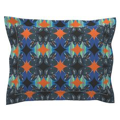 Sebright Pillow Sham with Flanged Detail featuring Popmejillon by joancaronil | Roostery Home Decor