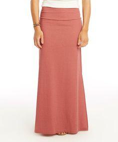 Sunset Chevron Mahalo Maxi Skirt #zulily #zulilyfinds
