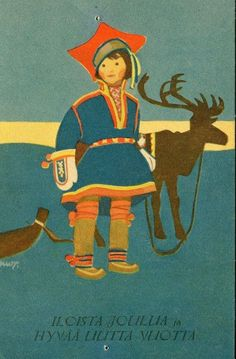 Image result for finnish vintage CHRISTMAS CARDS