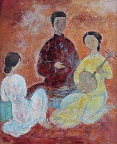 Vu Cao Dam | Modern Figurative painter | Tutt'Art@ | Pittura * Scultura * Poesia * Musica |