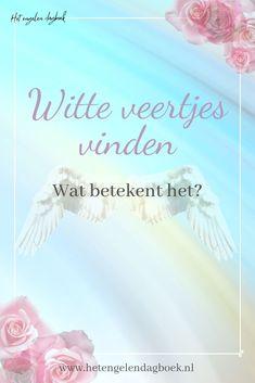 Vind jij regelmatig witte veertjes en ben je benieuwd naar de betekenis van witte veren op je pad?  #witteveertjes #betekeniswitteveer #engelentekens #engelen #spiritueel #tekens