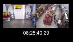 Walmart Security Video of Cops Killing John Crawford III