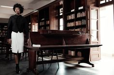 Naomi Campbell w W Magazine listopad 2013, fot. Willy Vanderperre