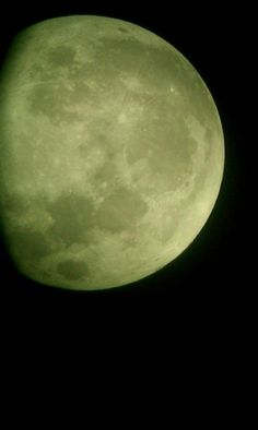 MAY 5, 2012 ~ Maria Johnson took this picture of the moon around 1 a.m. ET on Sunday in Sarasota, FL
