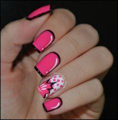 By Tracy Piotkowski. #nails#comicinspired @Bloom.COM