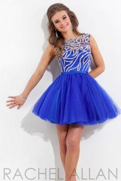 Rachel Allan Homecoming Dresses 6670 Prom Dress - PeachesBoutique.com