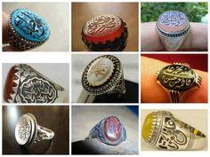 Beautiful Islamic rings
