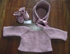 Conjunto rosa para bebés by Lan Fairy