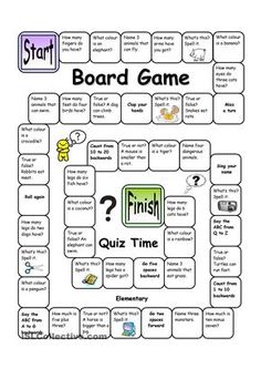 English Language, ESL, EFL, Learn English, Vocabulary and Grammar Board Game - Quiz Time (Easy) you can find similar pins below. We have brought the b. English Games, English Activities, English Lessons, Learn English, Languages Online, English Vocabulary, Teaching English, Fun Learning, Board Games