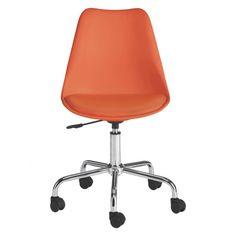 GINNIE Orange office chair | Buy now at Habitat UK