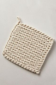 Crocheted Potholder - anthropologie.com