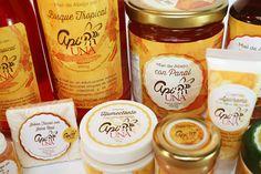Diseño de Etiquetas para Productos Apicolas on Behance
