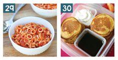Delicious Sandwich Free School Lunch Ideas