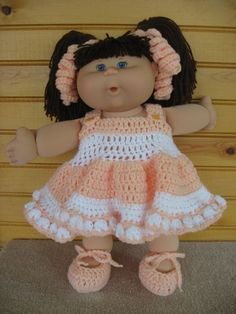 Cabbage Patch Doll Clothes Crochet