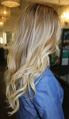 blonde hair look