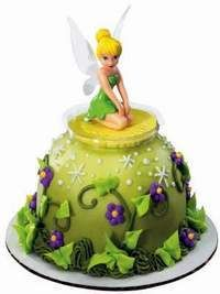 TINKERBELL-PETER-PAN-cake-Decoration-Supplies-TOPPER-Kit-Set-Birthday-Top-Favor