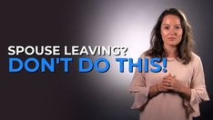 """It's very common- searching for exact words to say (and exact words not to say) in order to keep your spouse from leaving- or to win your spouse back. In fact, many things out there claim there is """"one word,"""" or there is """"one phrase"""" you can use to win your spouse back.  Here's the hard truth: there is no exact word or phrase. But here's the good news: there are things you can do if you're in this situation, there is hope!"""