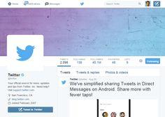 Twitter: Content That Markets Itself