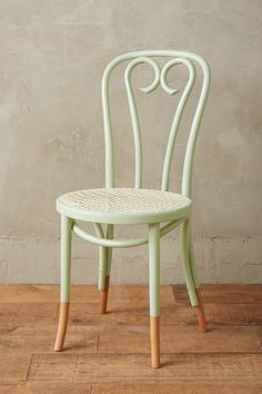 Scrolled Bentwood Dining Chair, Heart #anthrofave