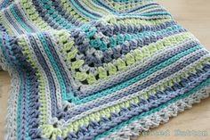 Blanket Crochet Pattern Breath of Heaven Baby Girl by FeltedButton, $5.50