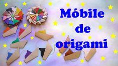 MÓBILE DE ORIGAMI   MANDALAS E BARQUINHOS