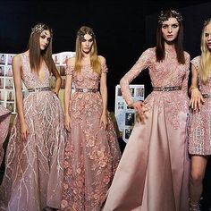 SS16 Powder Pink Gowns 🌸 #AmourEnCage