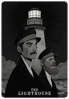 """""""He believed that there was some enchantment in the light. Went mad, he did. (style, concept, character-wise) I'm not much of a fan-art-making person but I got to see Robert Eggers' The Lighthouse last week, Horror Posters, Horror Films, Film Posters, Lighthouse Movie, Alternative Movie Posters, Movie Poster Art, Film Serie, Movies Showing, Wallpaper"""