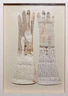 Jennifer Collier #art #paper #gloves