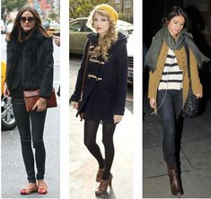 Celebrity Street Style: Olivia Palermo, Taylor Swift, and Selena Gomez