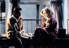 "Michelle Pfeiffer & Al Pacino as Frankie and Johnny - Great last scene ... with the ""Claire the lune"" (C.Debussy) music."