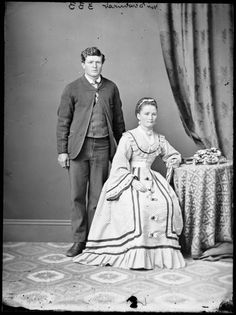 Mr. and Mrs. Dewhurst c. 1870-75  State Library of New South Wales