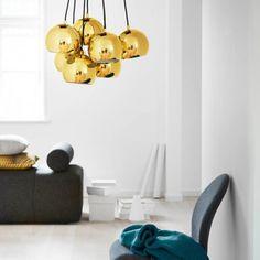 Frandsen Ball Multi lysekrone m. New Homes, Metallic, Home Decor, House, Lily, Decoration Home, Room Decor, Home, Home Interior Design