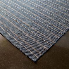 Delicate Stripes Indoor/Outdoor Rug navy_ivory