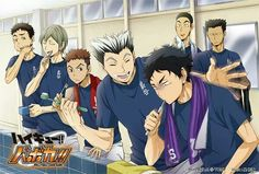 Hehe Akaashi looks like he's about to punch Bokuto in the face
